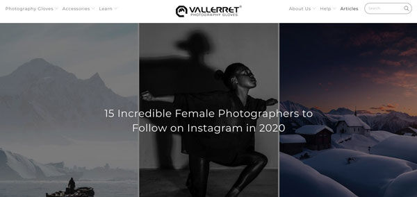 15 Incredible Female Photographers to Follow on Instagram in 2020