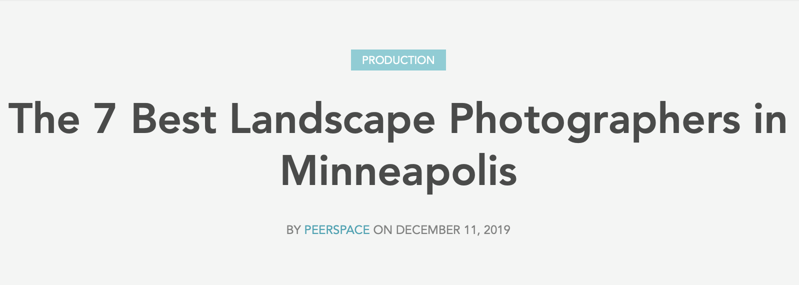 The 7 Best Landscape Photographers in Minneapolis