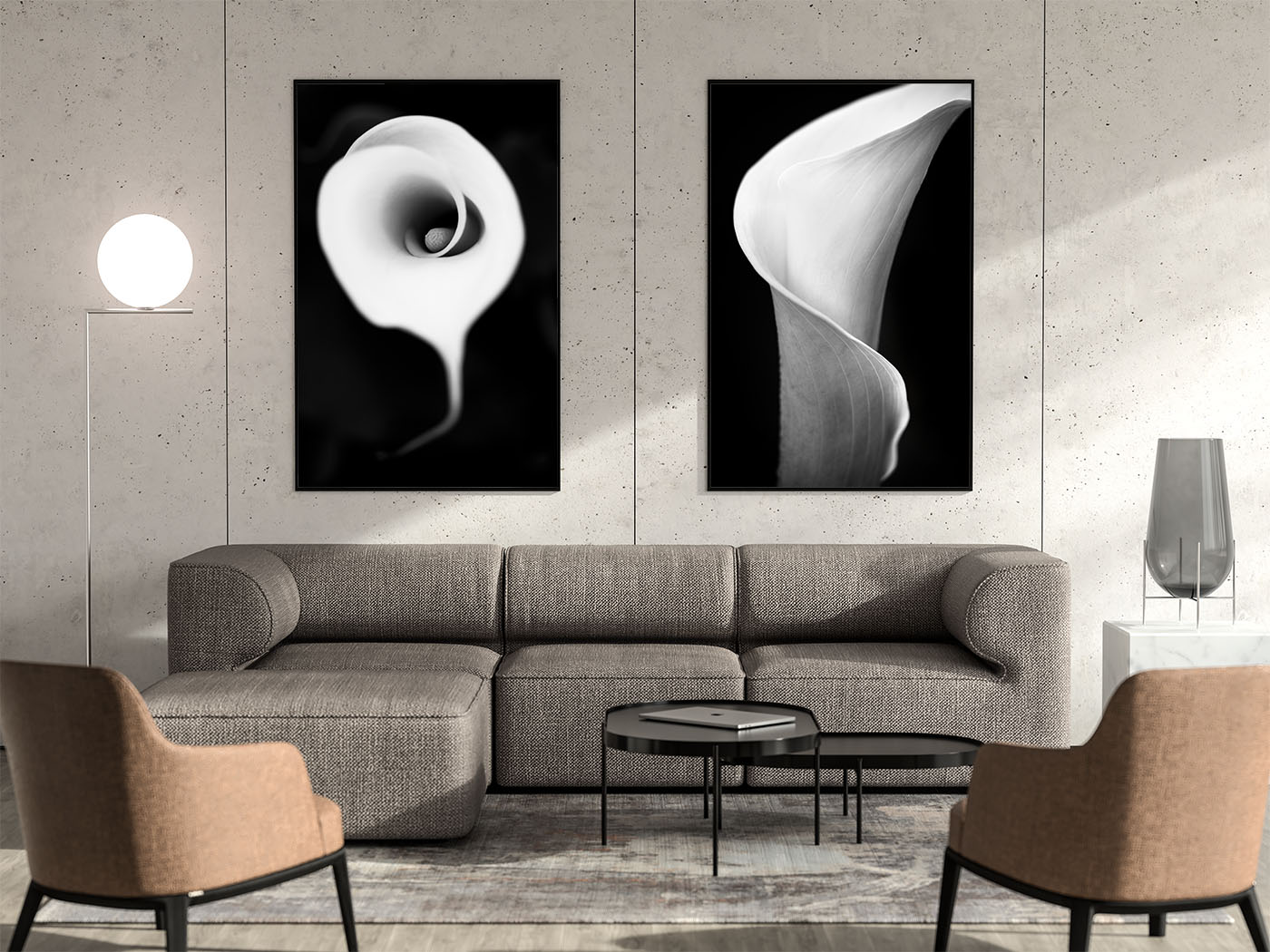 Modern black and white photography prints for sale