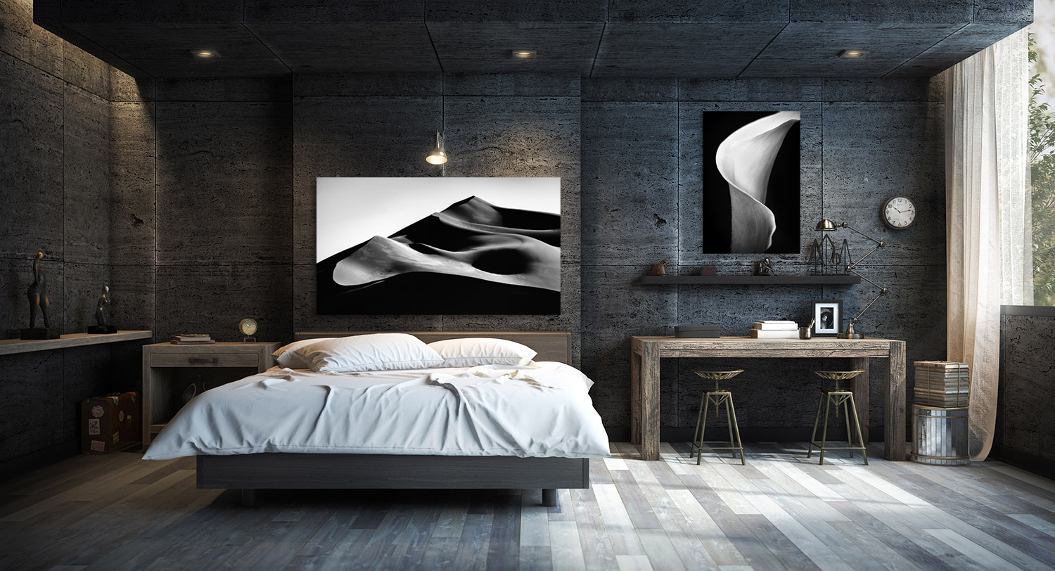 Modern Series, Gloss Metal Prints