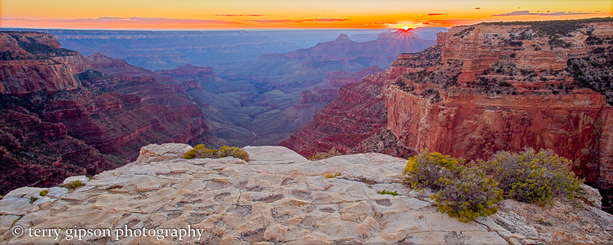 Grand Canyon evening